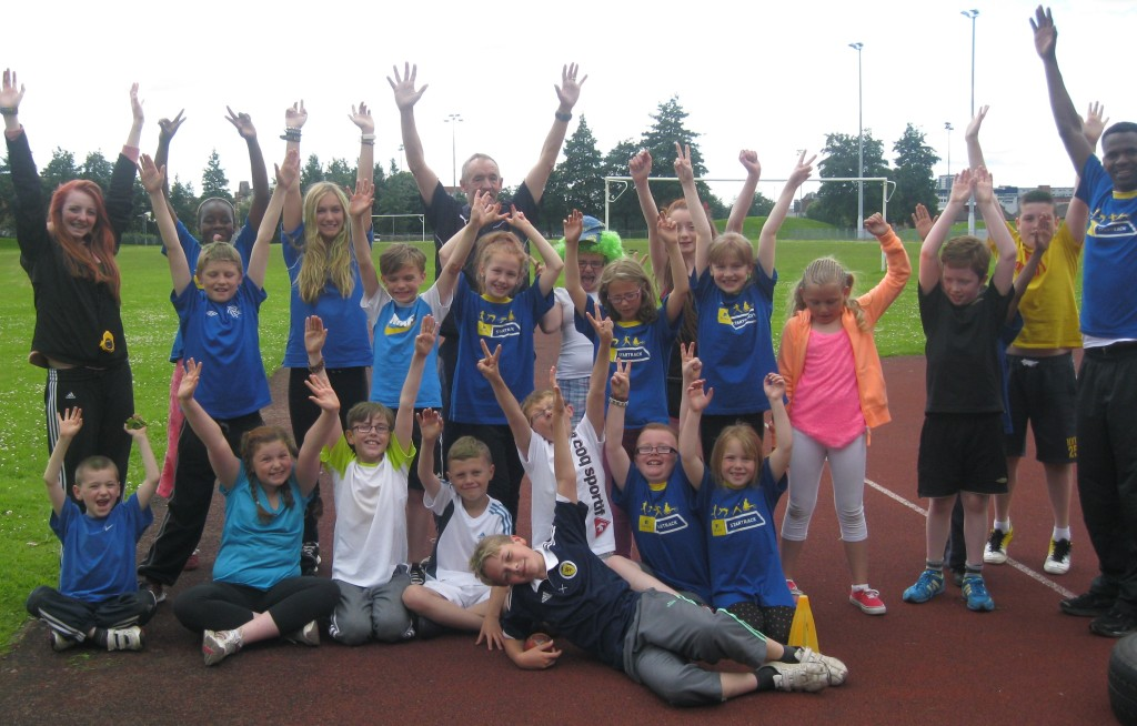 Shettleston Harriers Young Athletes
