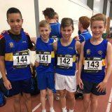 Under 13 4 x 100m Bronze Medalists